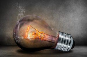 Lichttherapie Glühbirne