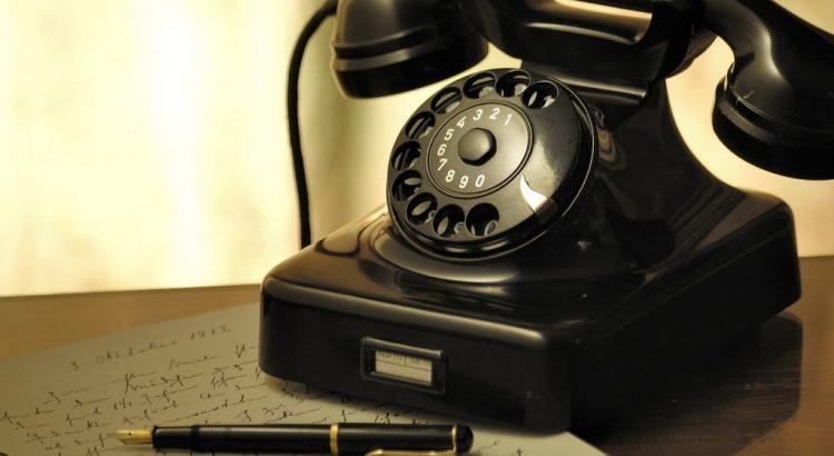 Telefon Brief Kontakt
