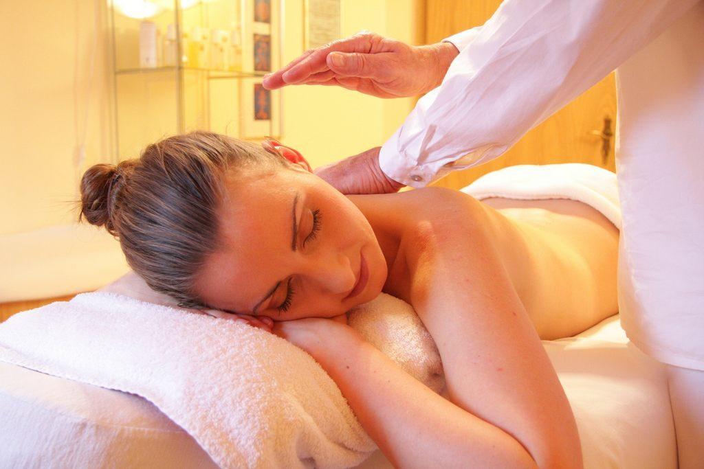 Akupressur Massage gegen Müdigkeit