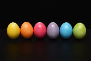 Farben Wirkung Auswahl Eier
