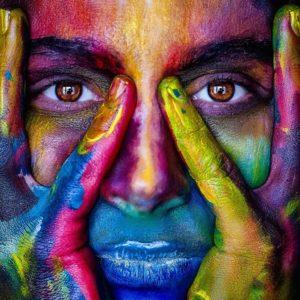 Farben Wirkung Gesicht