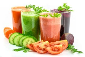Gemüsesaft Gläser