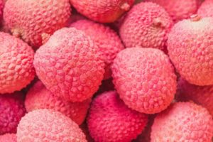 Farbe Rosa Wirkung Litschi