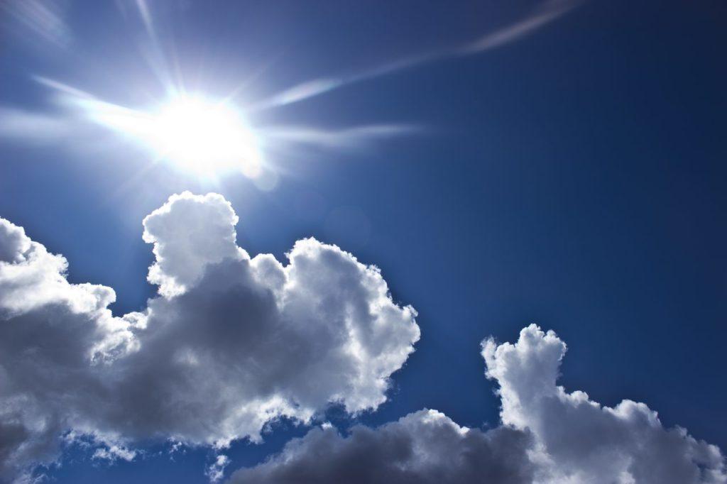 Sonne macht froh