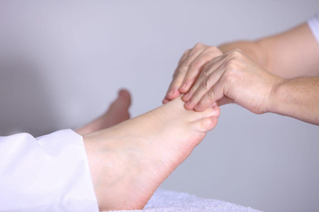 Akupressur Füße Massage