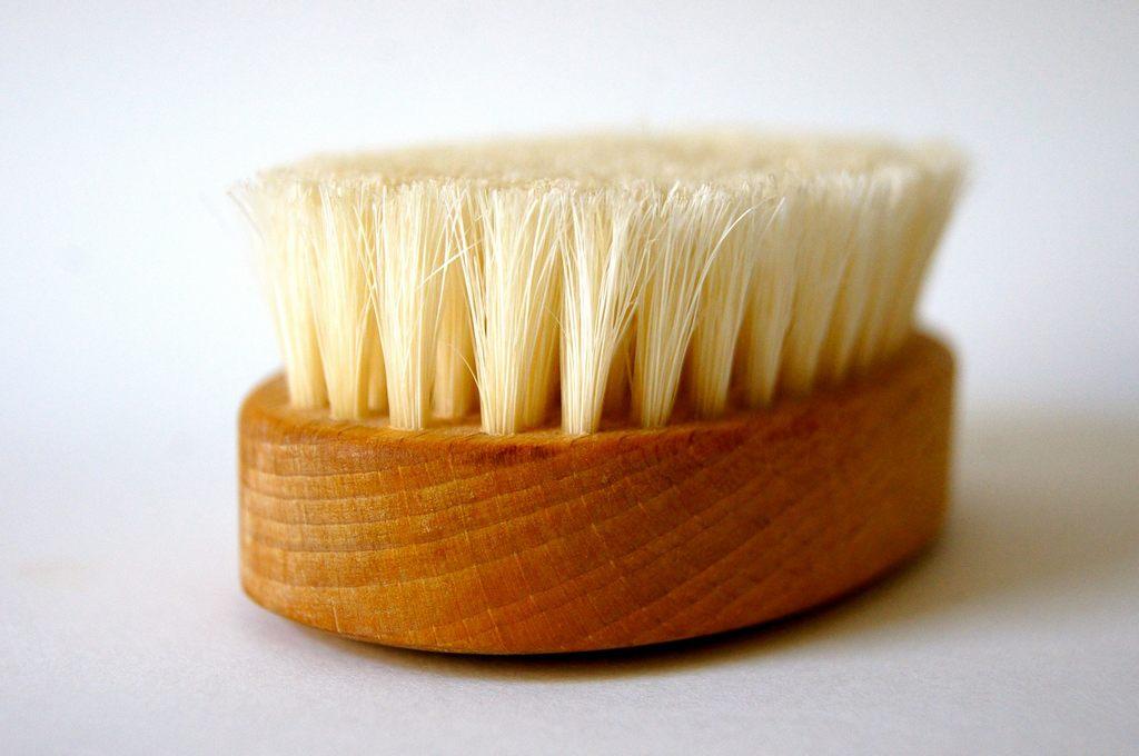 Körperbürste für Bürstenmassage