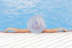 Entspannung Umgebung für Kopfmassage