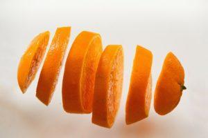 Orange Aroma Duft Öl Scheiben