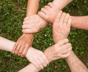 Zusammen stark sein - Teamgeist