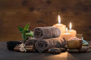 Massage Vorbereitung