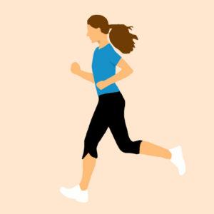Joggen Schwitzen Schweiß Sport