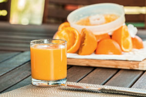 Orangensaft Vitamin C