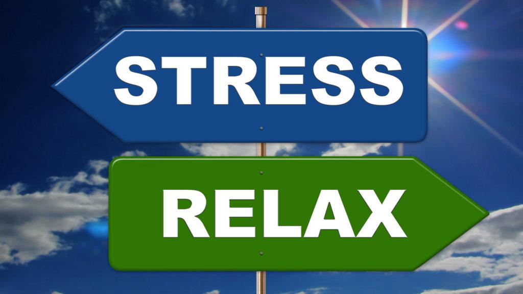 Stress oder Entspannung