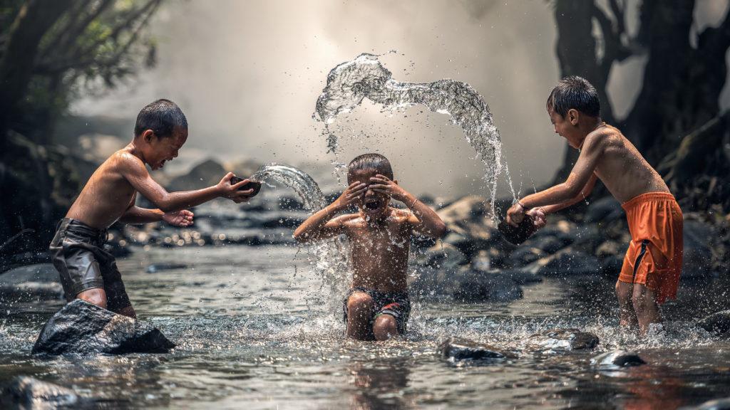 Wasser genießen