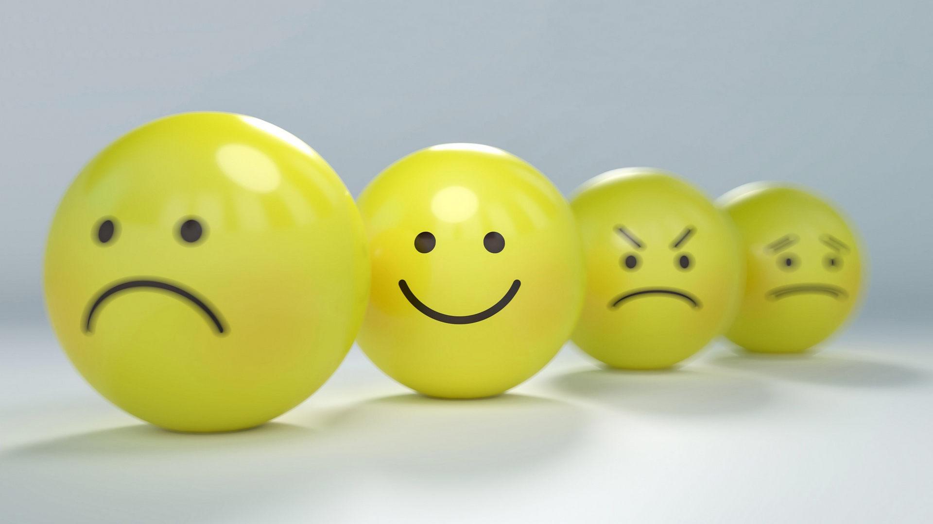 Glück und Leid fühlen